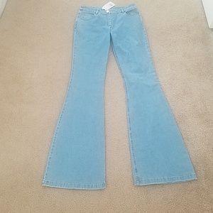 Michael Kors Techno Denim Flare Jeans